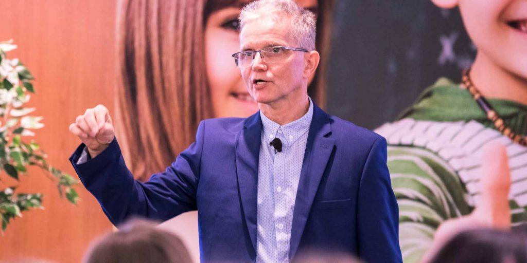 Novák Ferenc tanár, iskolai agresszió kezelési szakértő a II. Iskolai Agresszió Kezelési Pedagógus Konferencián